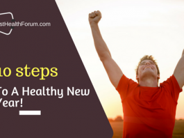 10 steps for a healthy new year