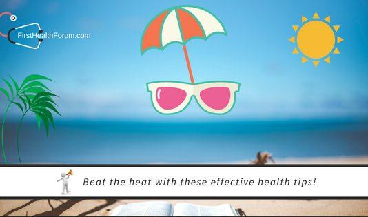 5 Health Tips To Get Yourself Summer Ready firsthealthforum